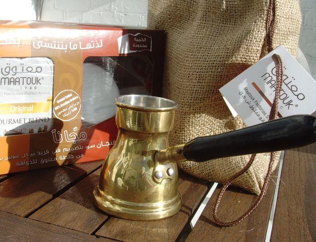 My maatouk coffee set
